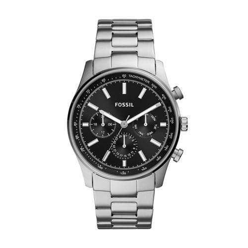 fossil Sullivan Multifunction Stainless Steel Watch BQ2447