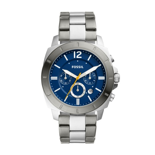fossil Privateer Sport Chronograph Two-Tone Stainless Steel Watch BQ2464
