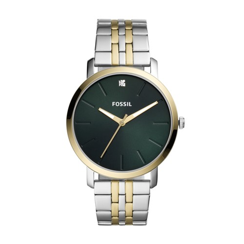 Lux Luther Three-Hand Two-Tone Stainless Steel Watch BQ2478
