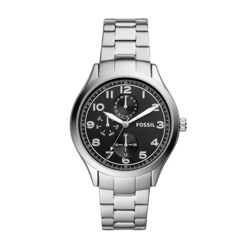 Wylie Multifunction Stainless Steel Watch BQ2484