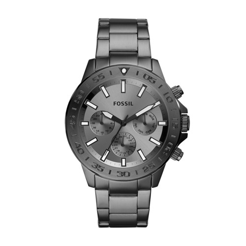 Bannon Multifunction Smoke Stainless Steel Watch BQ2491