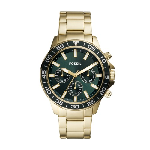 Bannon Multifunction Gold-Tone Stainless Steel Watch BQ2493