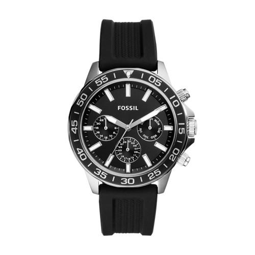 Bannon Multifunction Black Silicone Watch BQ2494