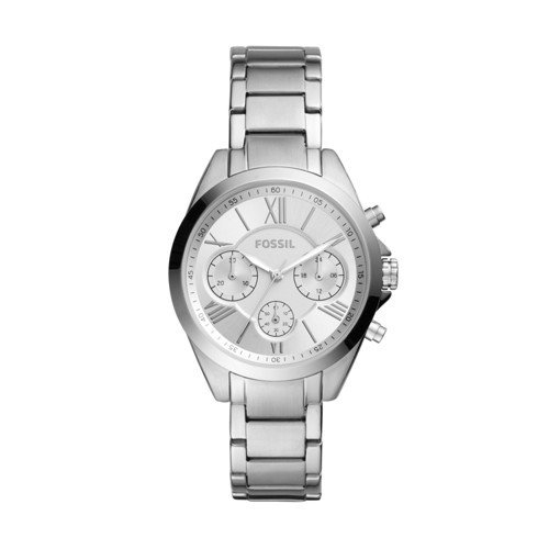 Modern Courier Midsize Chronograph Stainless Steel Watch BQ3035