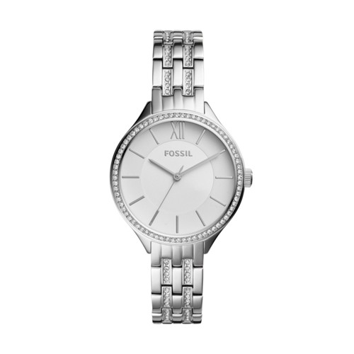 Fossil Suitor Three-Hand Stainless Steel Watch BQ3115