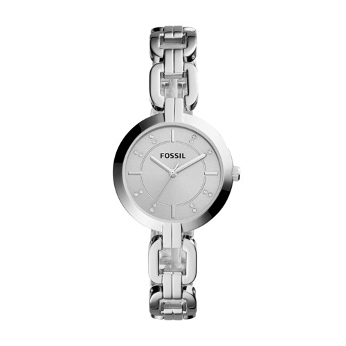 Fossil Kerrigan Three-Hand Stainless Steel Watch BQ3205