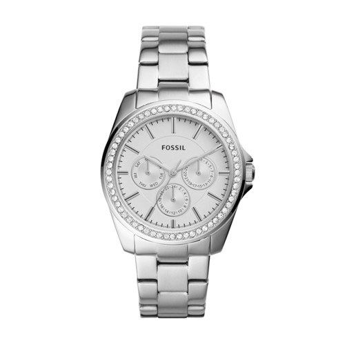 Fossil Janice Multifunction Stainless Steel Watch BQ3315