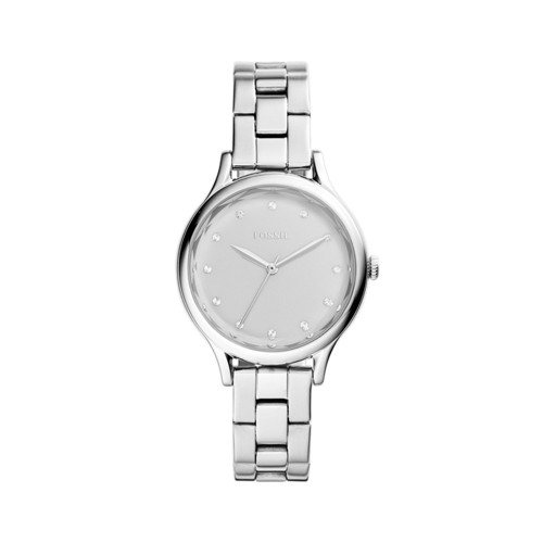 Fossil Laney Three-Hand Stainless Steel Watch BQ3320