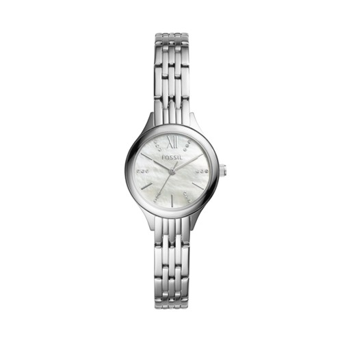Fossil Suitor Mini Three-Hand Stainless Steel Watch BQ3332