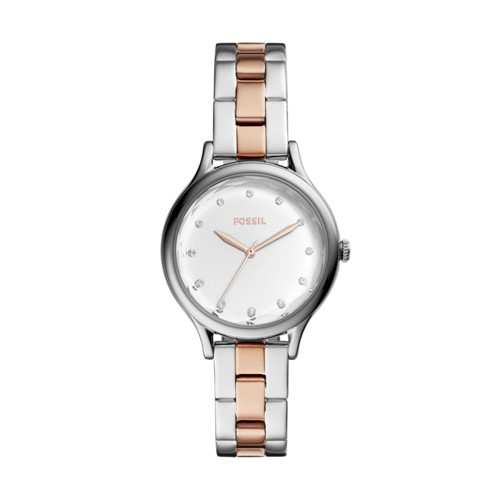 Laney Three-Hand Two-Tone Stainless Steel Watch BQ3338