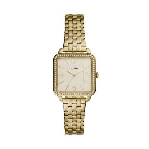Fossil Shiloh Three-Hand Gold-Tone Stainless Steel Watch BQ3367IE