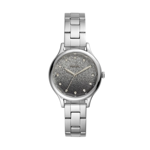 fossil Laney Three-Hand Stainless Steel Watch BQ3431