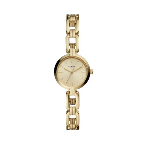 Kerrigan Mini Three-Hand Gold-Tone Stainless Steel Watch BQ3444