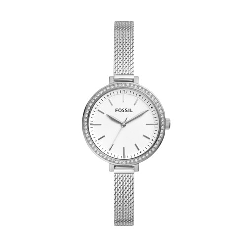 Fossil Classic Minute Three-Hand Stainless Steel Watch  jewelry