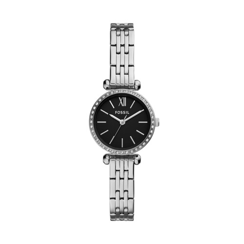 fossil Tillie Mini Three-Hand Stainless Steel Watch BQ3501