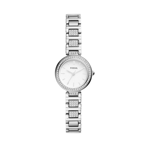 Fossil Karli Mini Three-Hand Stainless Steel Watch  jewelry