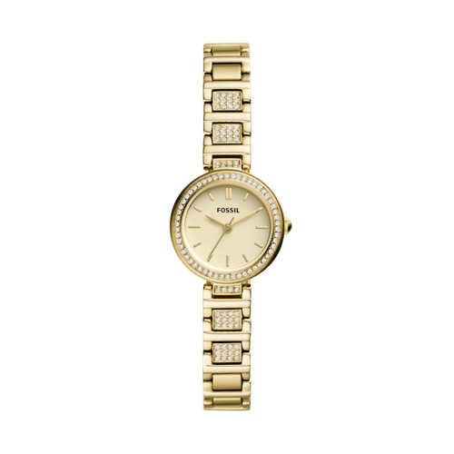 Karli Mini Three-Hand Gold-Tone Stainless Steel Watch BQ3518