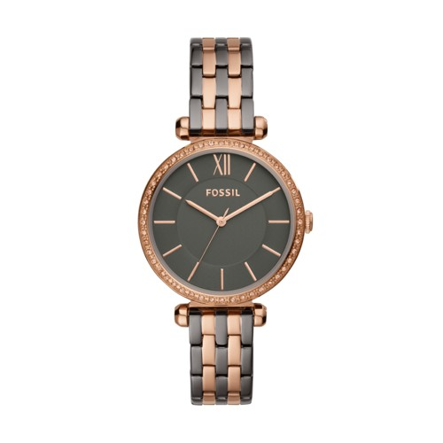 fossil Tillie Three-Hand Two-Tone Stainless Steel Watch BQ3522