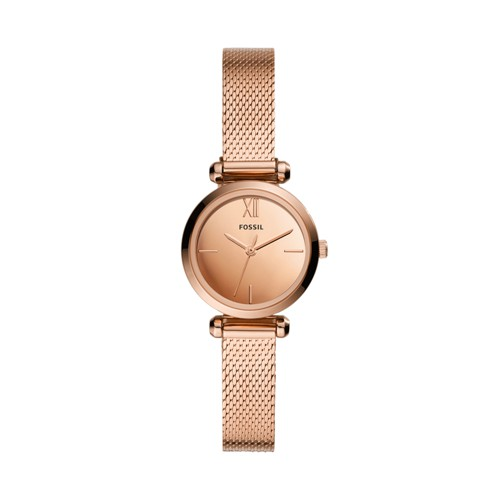 Tillie Mini Three-Hand Rose Gold-Tone Stainless Steel Watch BQ3534