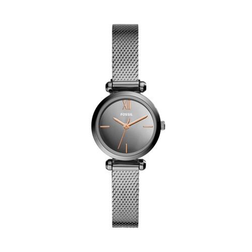 Tillie Mini Three-Hand Smoke Stainless Steel Watch BQ3536