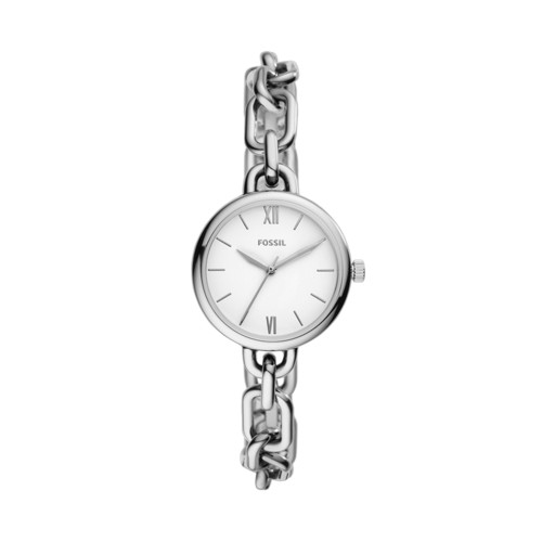 Fossil Embry Three-Hand Stainless Steel Watch  jewelry