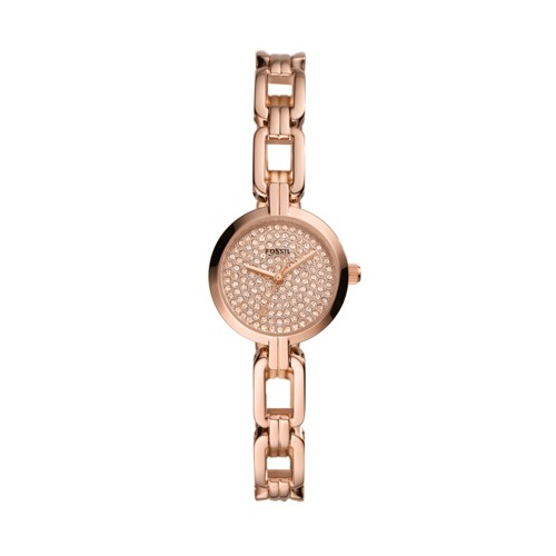 Kerrigan Mini Three-Hand Rose Gold-Tone Stainless Steel Watch BQ3560
