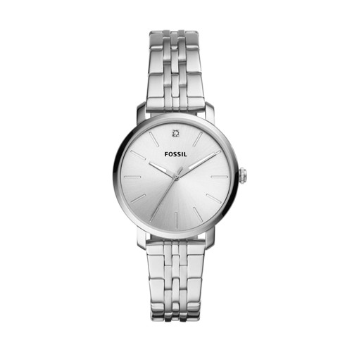 Lexie Luther Three-Hand Stainless Steel Watch BQ3566