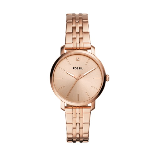 Lexie Luther Three-Hand Rose Gold-Tone Stainless Steel Watch BQ3567