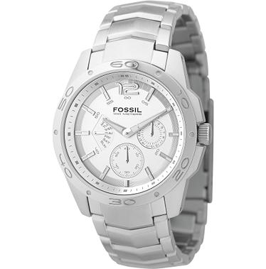 Fossil BQ9327 Multifunction Silver Dial