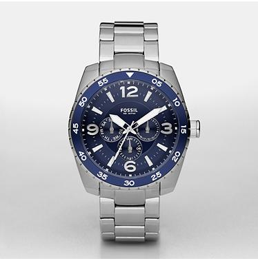 Fossil BQ9373 Multifunction Blue Dial