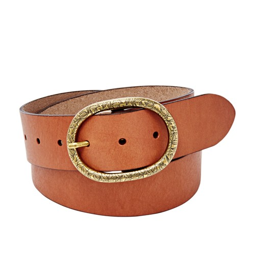 Fossil Vintage Oval Buckle Belt BT4345200S