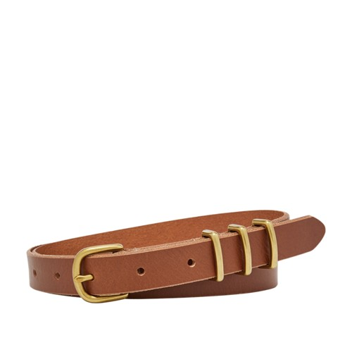 Fossil Triple Keeper Skinny Belt Bt4386231l