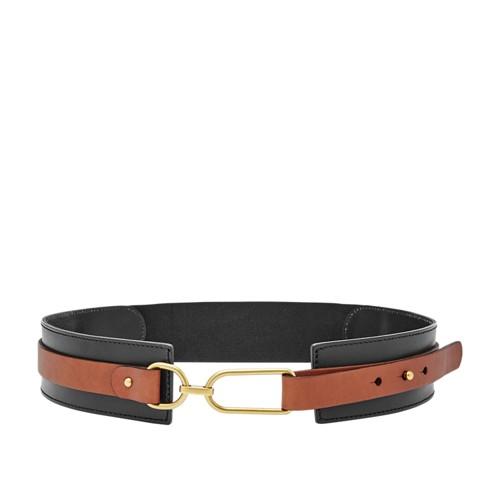 Fossil Rumi Waist Belt Bt4391001s Color: Black