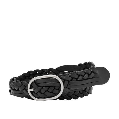 Fossil Jean Braid Belt Bt4404001xl Color: Black