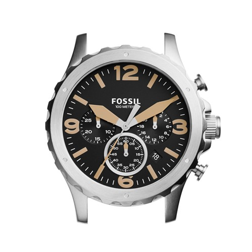 Fossil Nate Chronograph Stainless Steel Case C221033