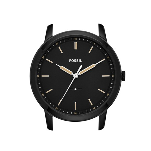 Fossil The Minimalist Slim Three-Hand Black Watch Case C221040
