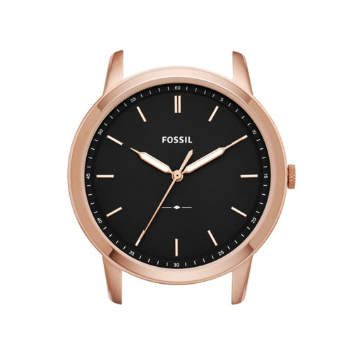 Fossil The Minimalist Slim Three-Hand Black Watch Case C221041
