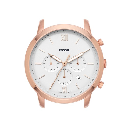 Fossil Neutra Chronograph Rose Gold-Tone Stainless Steel Watch Case C221047