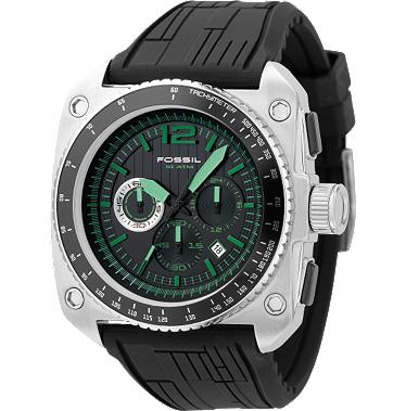 Fossil CH2577 Chronograph Green Dial