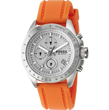 Fossil CH2595 Chronograph White Dial