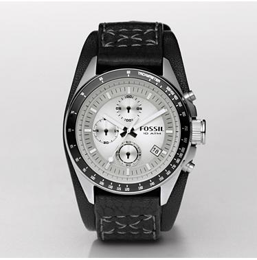 Fossil CH2598, Decker Black Topring Chronograph