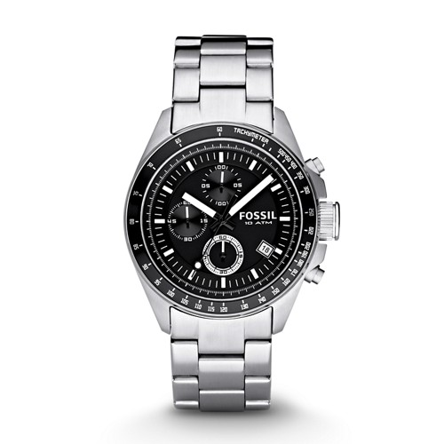 Decker Chronograph Stainless Steel Watch CH2600IE