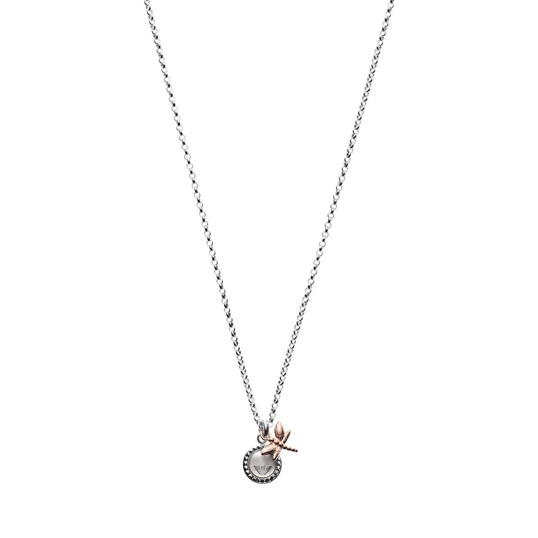 Emporio Armani Emporio Armani Women&Apos;S Sterling Silver Pendant Necklace Eg3348040 jewelry - EG3348040-WSI
