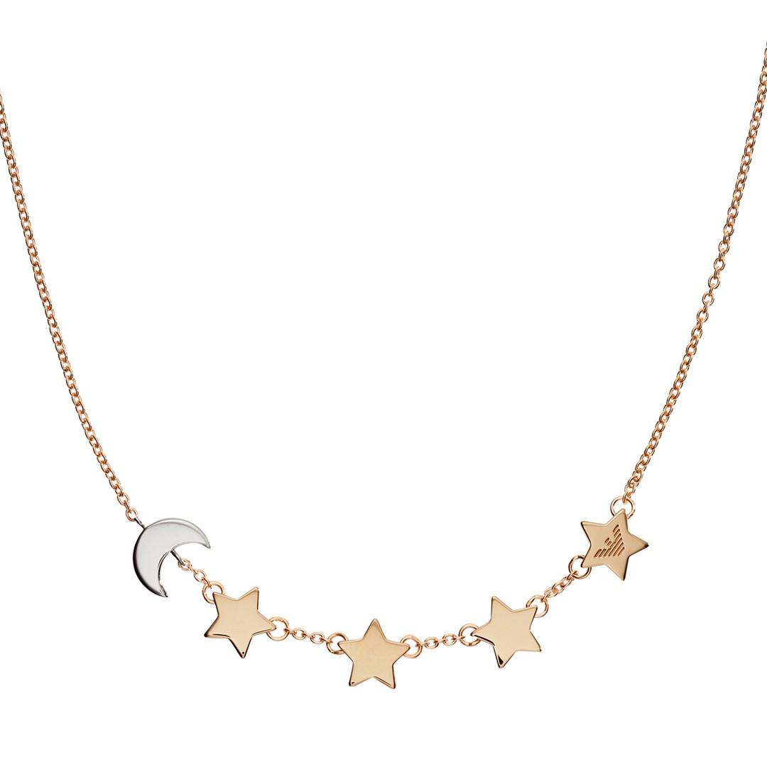 Emporio Armani Emporio Armani Women&Apos;S Two-Tone Sterling Silver Necklace Eg3363221 Jewelry - EG3363221-WSI