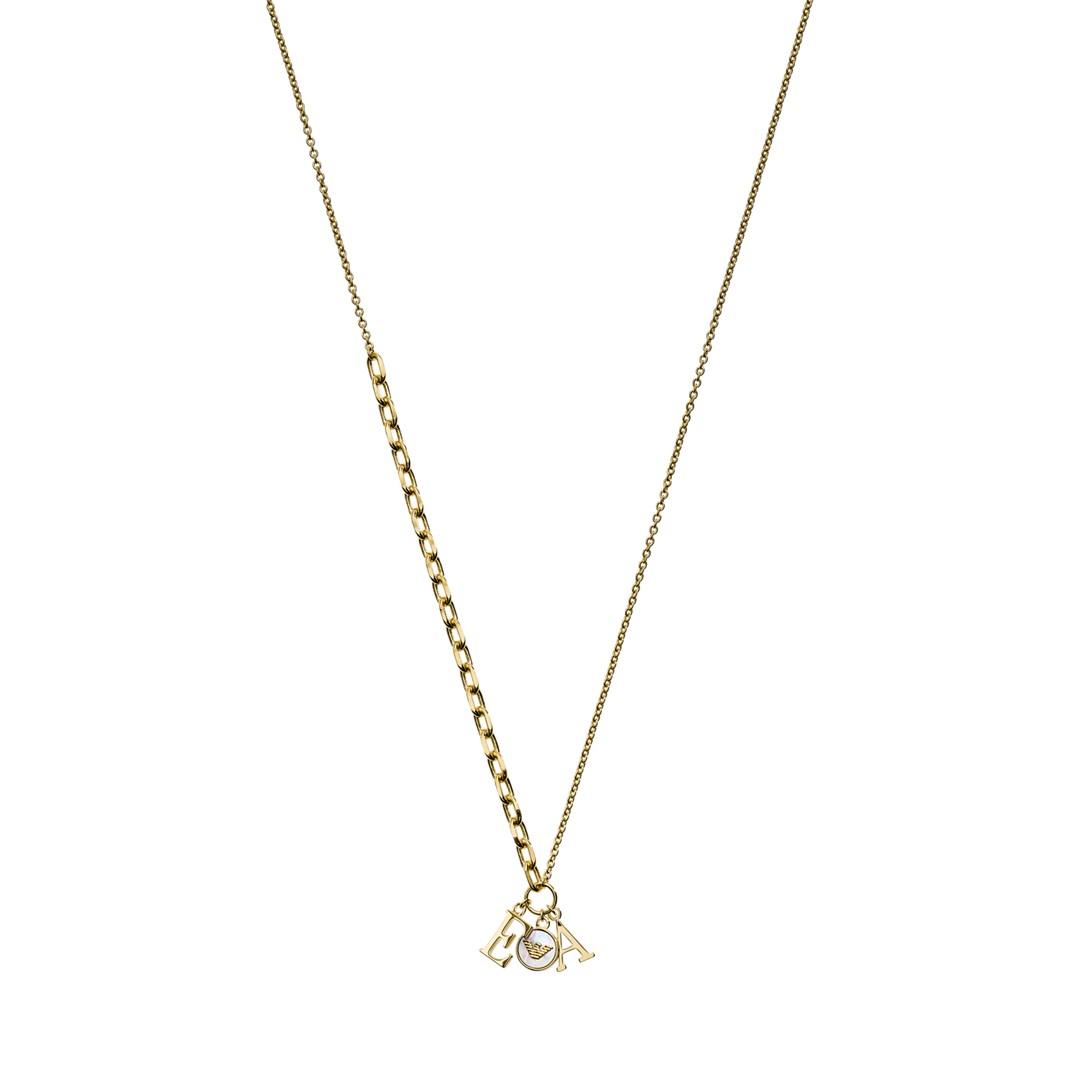 Emporio Armani Emporio Armani Gold-Tone Sterling Silver  Pendant Necklace Eg3421710 Jewelry - EG3421710-WSI