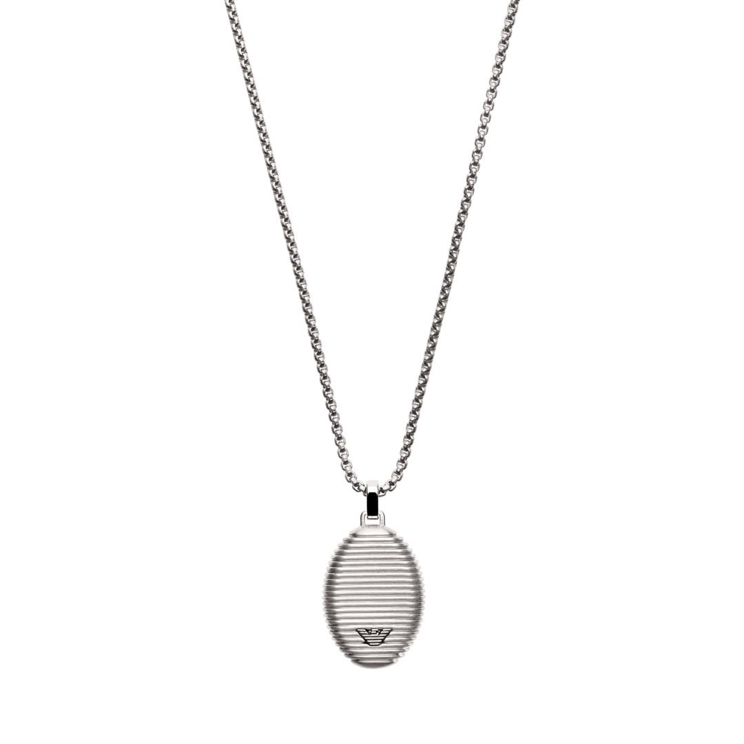 Emporio Armani Emporio Armani Men&Apos;S Stainless Steel Pendent Necklace Egs2654040 Jewelry - EGS2654040-WSI