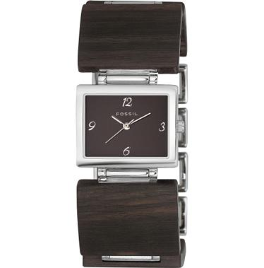Fossil ES1540 Analog Wood Dial