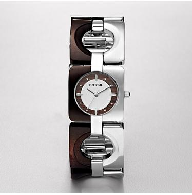 Fossil ES2169 Analogue Silver Dial