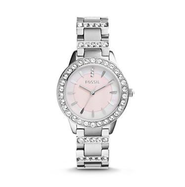 Fossil ES2189 Analogue Pink MOP Dial