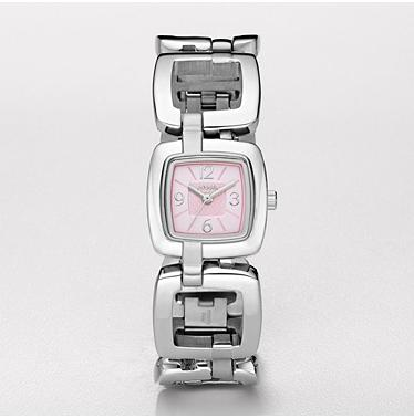 Fossil ES2276 Analog Pink Dial